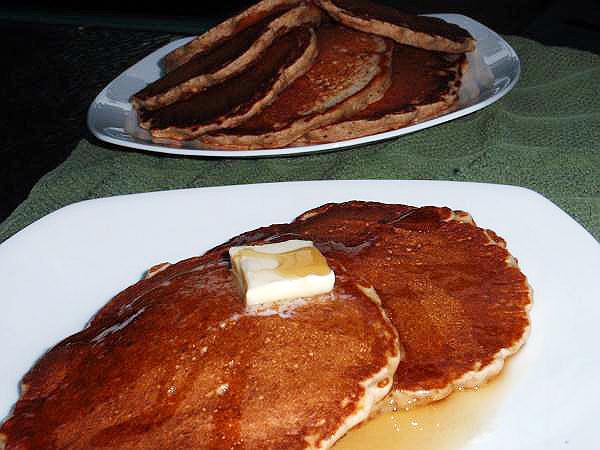 cracker barrel multigrain and granola pancakes