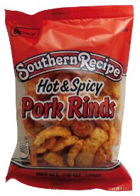Rudolph Food's  Hot & Spicy Pork Rind Stuffing