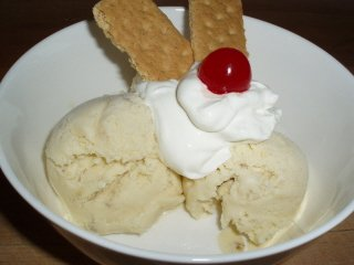 Homemade Banana Ice Cream