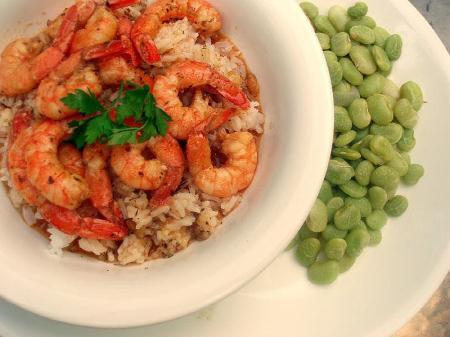 barbeque shrimp, bbq shrimp, barbequed shrimp