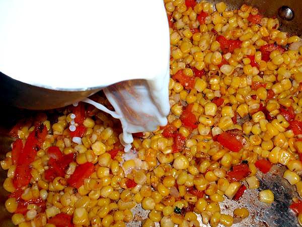 fried corn recipe