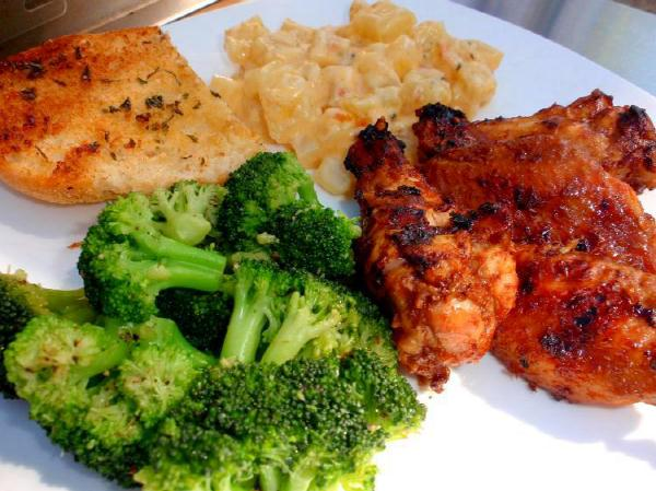 grilled wings recipe