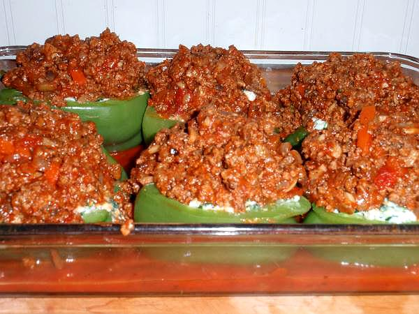 recipe for stuffed peppers
