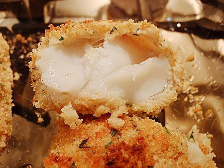 breaded cod fish