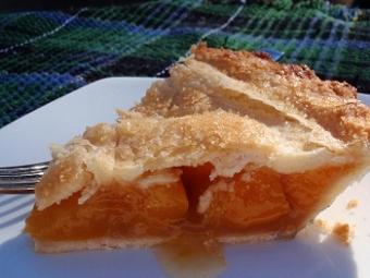 canned peach pie