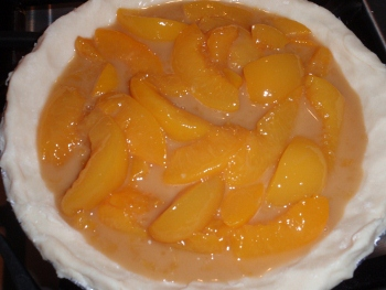 recipe for peach pie